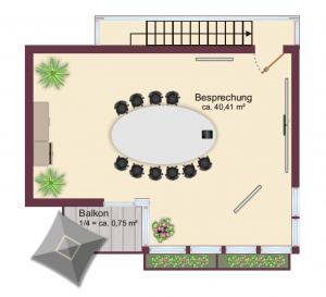 Schulungsraum Rosenheim / 1. OG